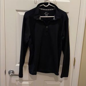 Men's Large Black Nike Quarter Zip